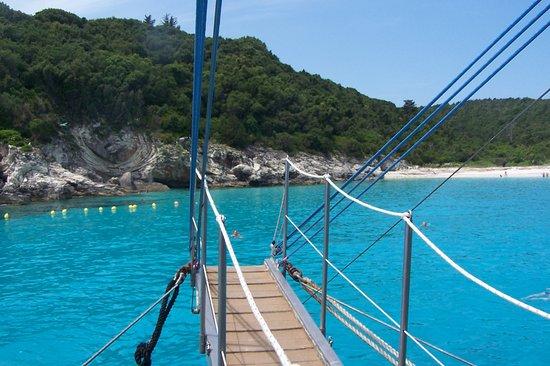 Corfu, กรีซ: Blue Lagoon