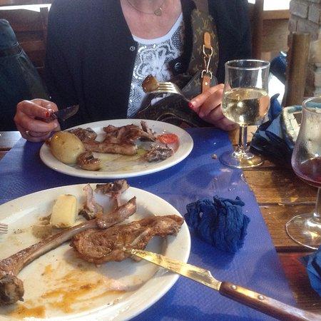 Bar Restaurant Juia: Барашек на гриле