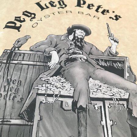 Peg Leg Pete S Pensacola Beach Menu Prices