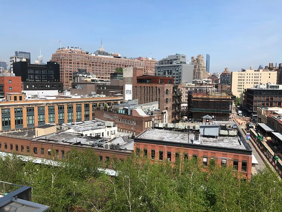 Whitney Museum of American Art Admission Ticket: view from terrace of Museum of the Meatpacking district