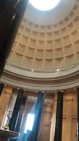 หอศิลป์แห่งชาติ: Cúpula desde adentro