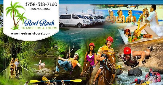 Castries, St. Lucia: For the very best Experience, Visit www.reelrushtours.com or call 1758 518 7120 / 1305 900 2562