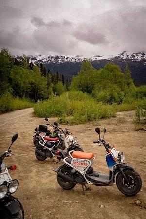 3-Hour Scooter Tour of Skagway, Alaska: Amazing vistas all around you