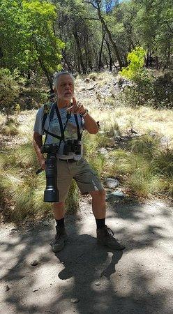 Hereford, AZ: Local birder and photographer Kordeen Kor.