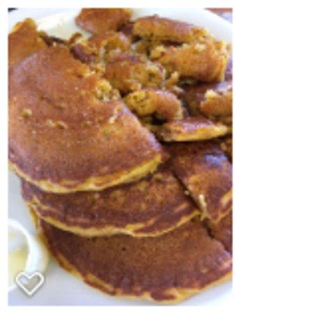 Perk Eatery: Pumpkin pancakes