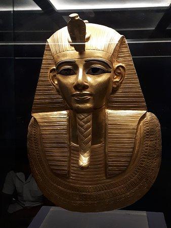 Museo de Antigüedades Egipcias: Not Tutankhamun,  but a nice one...