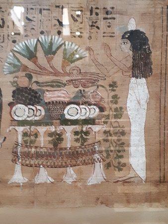 Museo de Antigüedades Egipcias: Papyrus