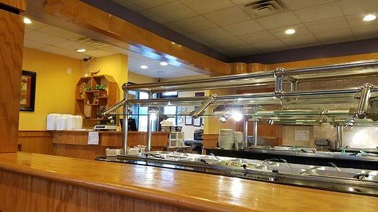Siler City, NC: Clean buffet