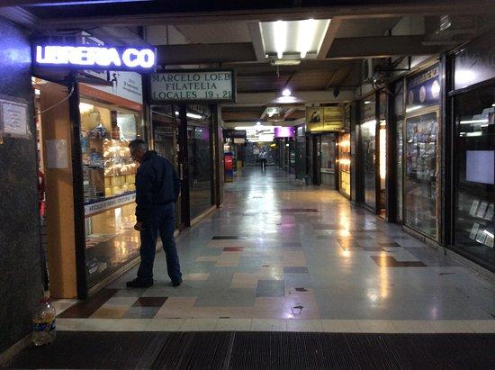 Galeria de Filatelia : Yesteryear's Philately shops entrance