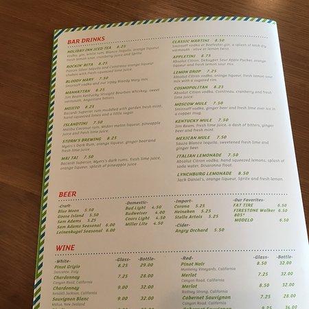 Trophy Club, TX: Great menu and drinks!