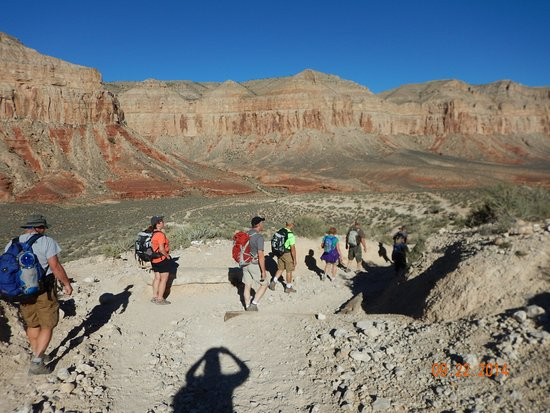 Hualapai Hilltop to Supai Trail