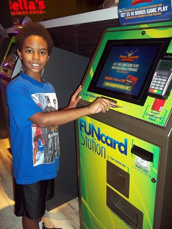 Main Event Entertainment: My son loves going to, Main Event each week.