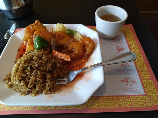 Boyne City, MI: Excellent Presentation but Tasted Better-Shrimpe Sweet/Sour