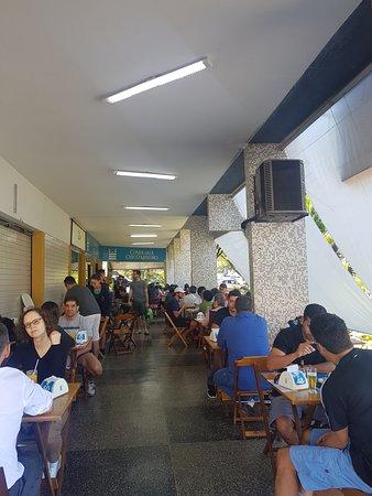 Confraria Chico Mineiro: Área externa