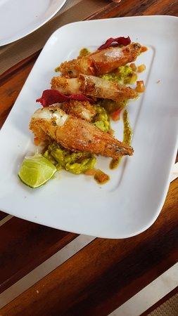 La Cozinha: Petisco de peixe co Guacamole