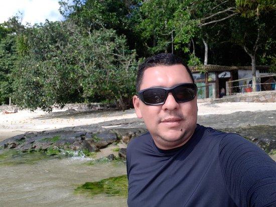 Muriqui Beach: Praia do Araçá na Ilha de Jaguanu é uma das melhores ilhas na Costa Verde do RIO DE JANEIRO, loc