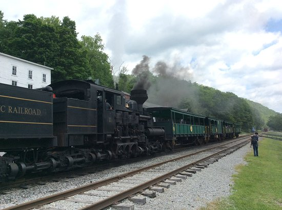 Slatyfork, Virginia Occidental: All aboard...