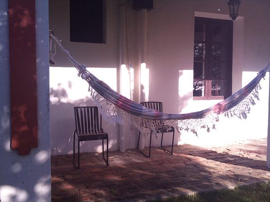 Estancia Guardia del Monte: Patio Hammock