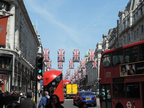 Regent Street: Vista panorámica