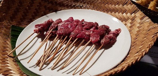The Bale : Sate night in Faces restaurant