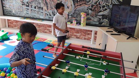 Royal Tulip Springhill Resort Jimbaran: Kids Zone dilengkapi dengan permainan yang disukai anak-anak
