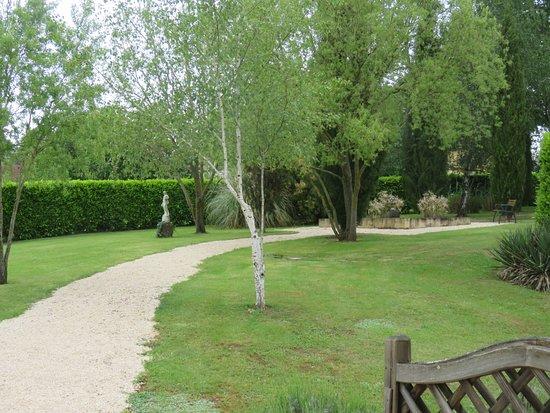 La Barde Montfort: View from our door (seen in previous photo)