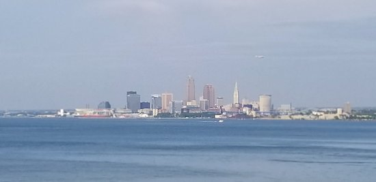 Lakewood, OH: Cleveland  Skyline from the deck