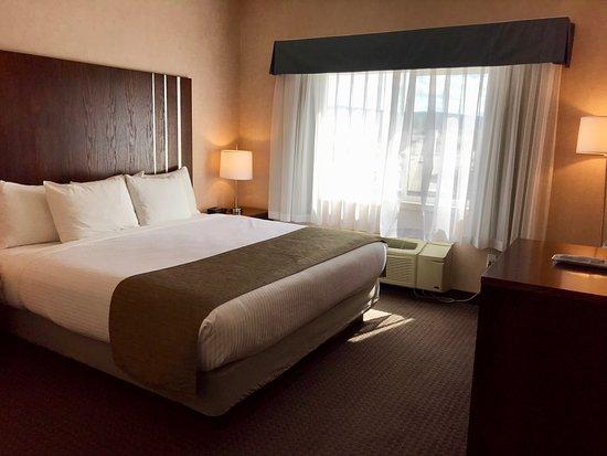 Cranbrook, Canada: King bed in 1 bedroom suite