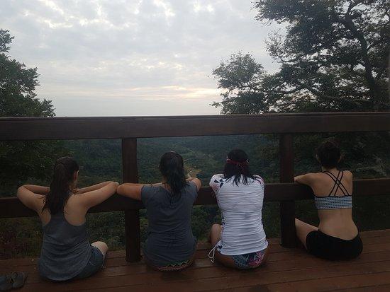 Cassorova Eco Park: Mirante Alto da Serra foi o ponto escolhido para finalizar o dia. Que imensidão linda!
