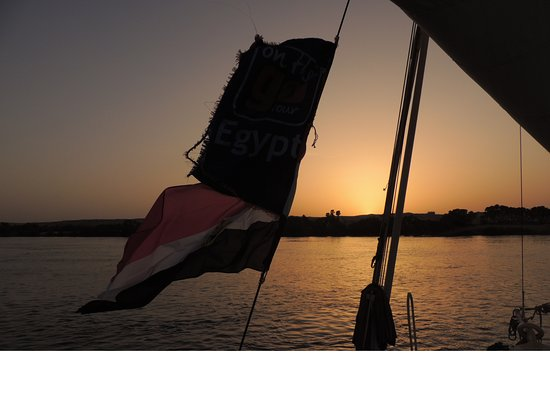 On The Go Tours: Sunsets over the Nile while sailing on the felucca