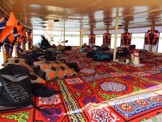 On The Go Tours: Home sweet home for two days aboard the felucca boat