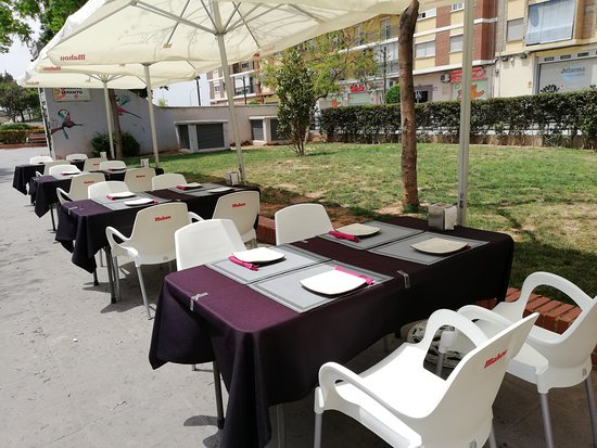 Mislata, Spania: TERRAZA