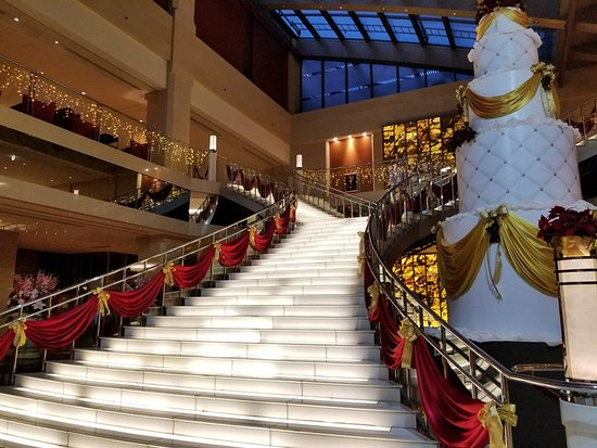 Hotel Keihan Universal Tower : 大階段です