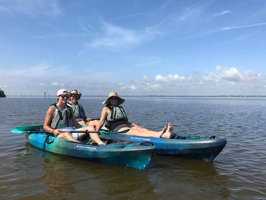 Cocoa Kayaking: k