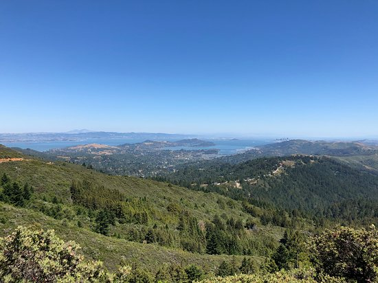 Redwood Ramblers: View from West Point Inn