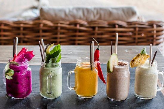 Genius Cafe Gianyar: Selection of Inspirational Smoothies
