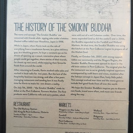 The Smokin' Buddha Image