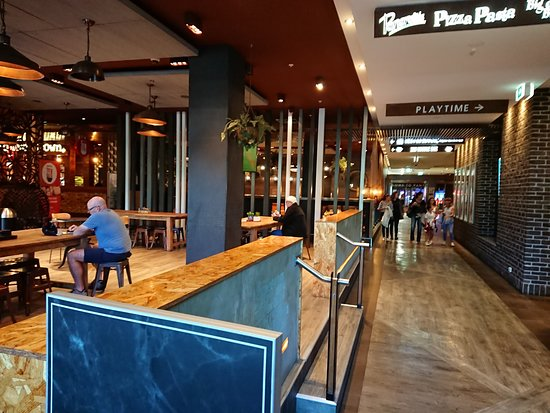 Penrith Panthers Leagues Club - restaurant alley
