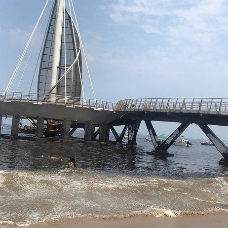 港海滨长廊(防波堤大道)照片