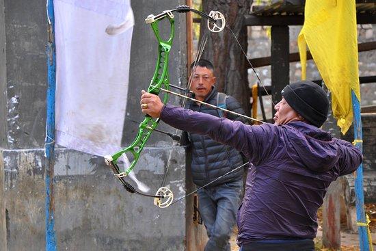 Bután: Archery in Paro