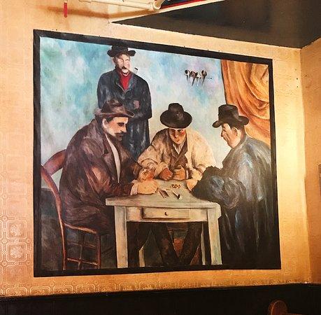 Lucien Restaurant : Painting inside Lucien