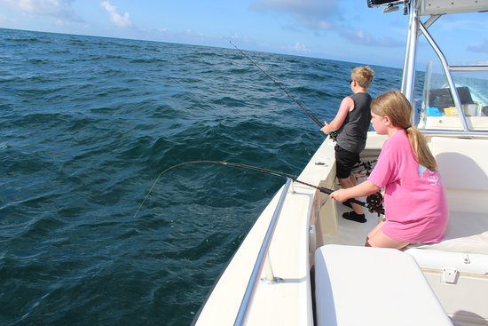 Pisces Charters: My kids are 11 and 12 and had the best experience!! They absolutely loved this fishing trip!