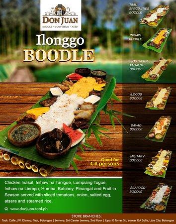 Don Juan Boodle House Lemery: Ilonggo's best