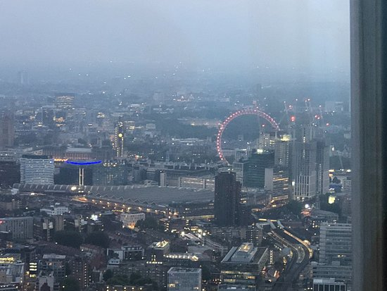 The View from The Shard is above London Bridge underground station