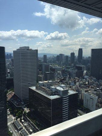 Hilton Osaka: View from my room