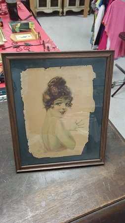 The Purple Chair Antiques and Curios: Antique Art and Prints