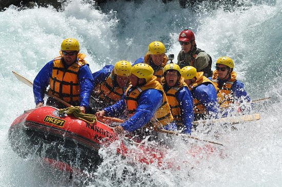 White Water Rafting från Christchurch