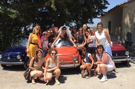 Original Fiat 500 Vintage Tour Drive And Smile Picture Of