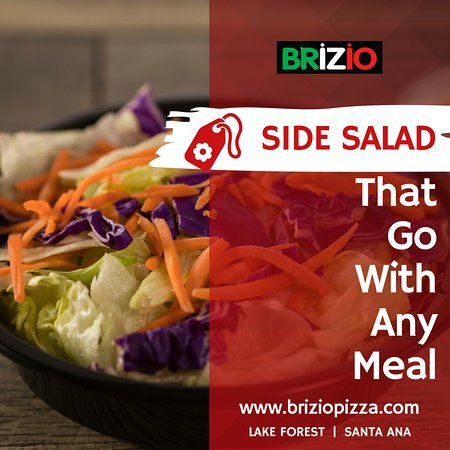 Brizio's Pizza: When you're in the mood for a salad, side salad is the feast you are looking for. Visit Brizio P