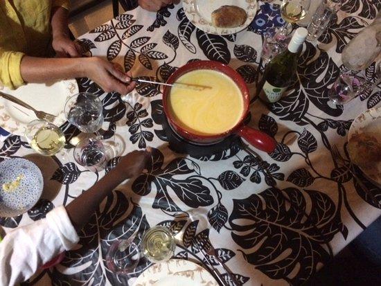 Riebeek-West, Sydafrika: Cheese Fondue Experience